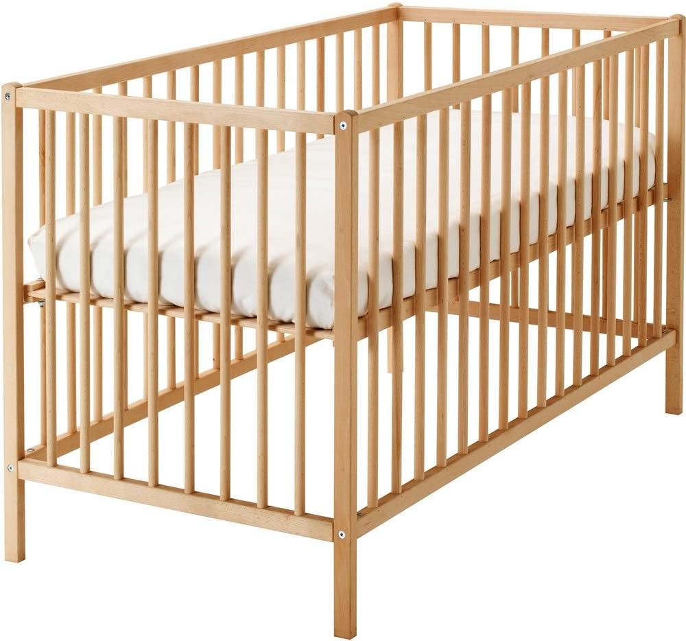 Wooden Cot Holiday Baby Hire
